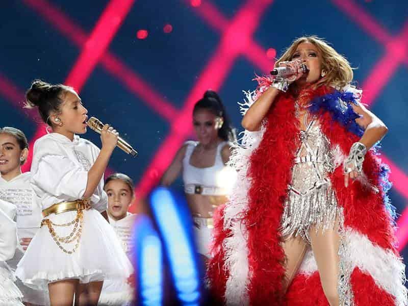 Jennifer Lopez y su hija