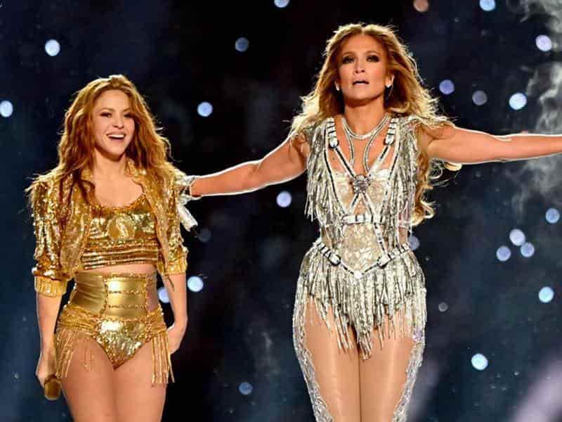 Shakira y Jennifer Lopez impactaron en el medio tiempo del Super Bowl