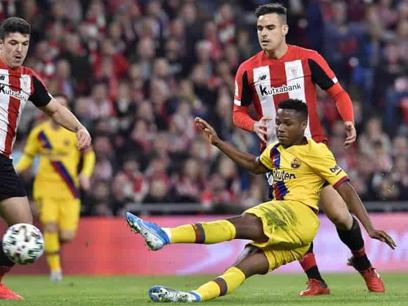 Contra todo pronóstico, el Athletic de Bilbao derrotó al FC Barcelona