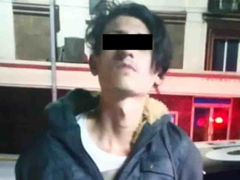 Arrestan a 2 hombres con droga en el Centro de Mty