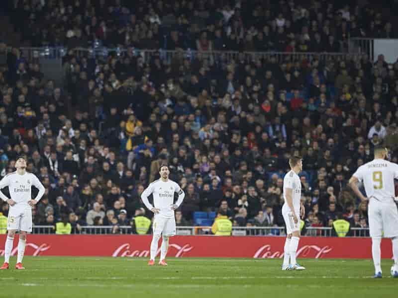 El conjunto de Zinedine Zidane se volcó al frente