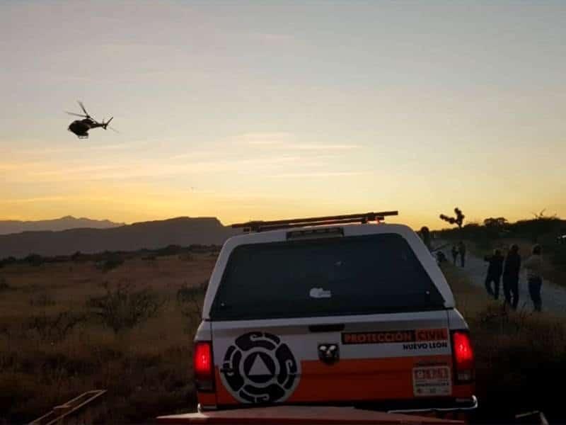 Continúa combate de incendio en cerro del Fraile