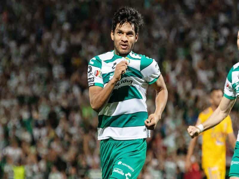 Eduardo Aguirre abrió el marcador al minuto 40.