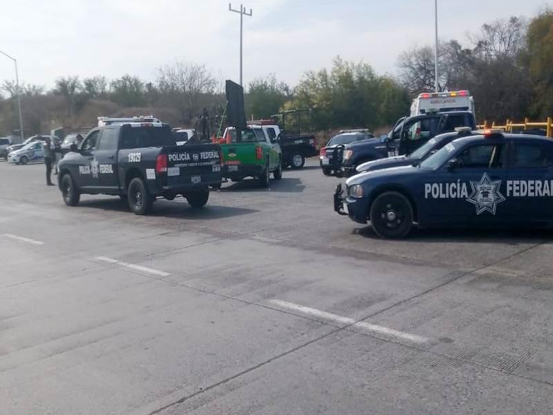 Atacaron a balazos a Secretario de Seguridad Pública de Sabinas Hidalgo.