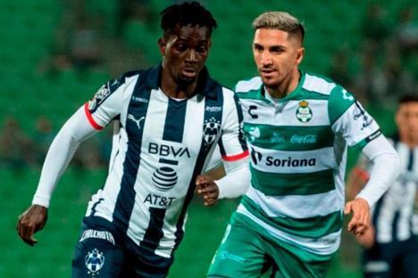 Monterrey derrota a Santos y es semifinalista