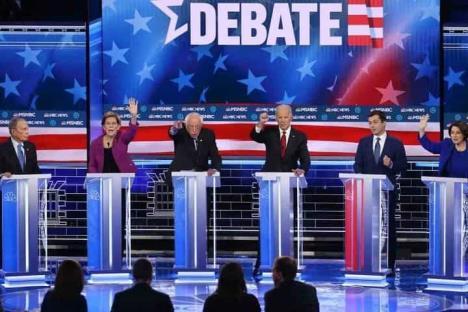 Demócratas debaten sobre sistema de salud de EUA y Obamacare