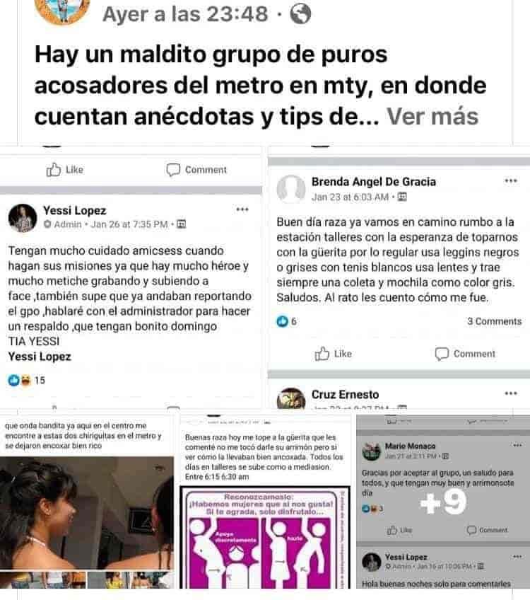 El grupo de facebook fue creado en septiembre el 2019
