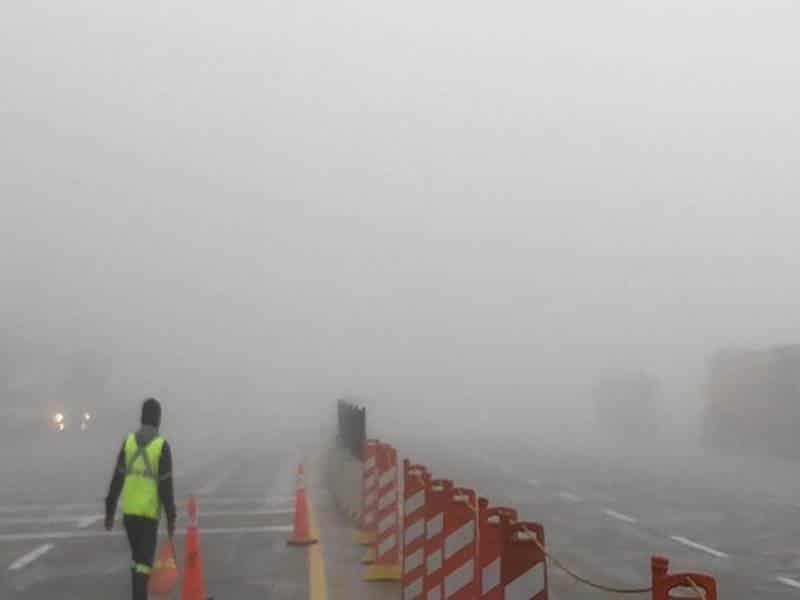 La autopista Monterrey-Saltillo continuó cerrada por segundo día consecutivo
