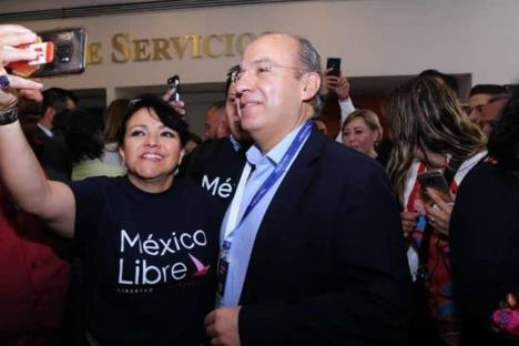 México Libre pondrá un hasta aquí a Morena: FCH