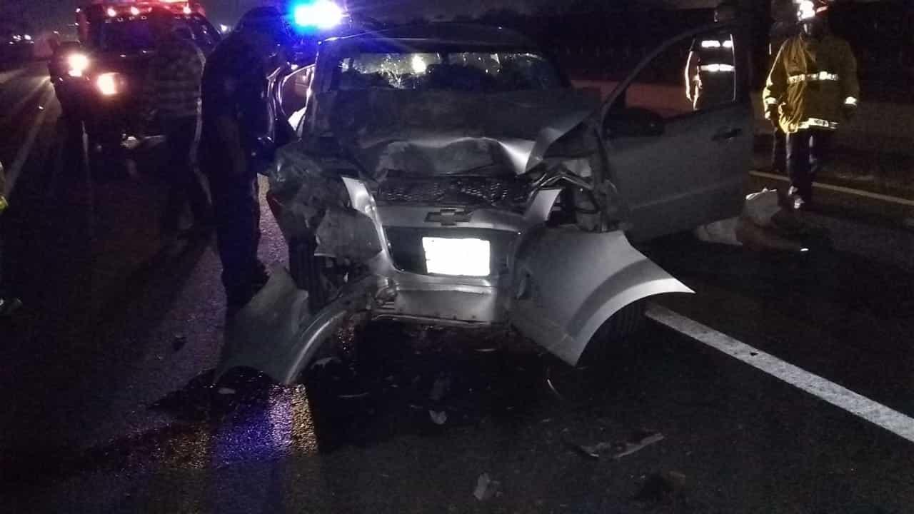 En el accidente fallecieron dos personas