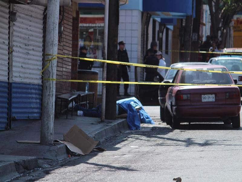 Los baleados eran taxistas que daban servico en esa área