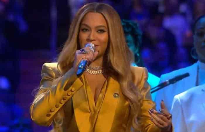 Beyoncé abrió el funeral de Koby Bryant