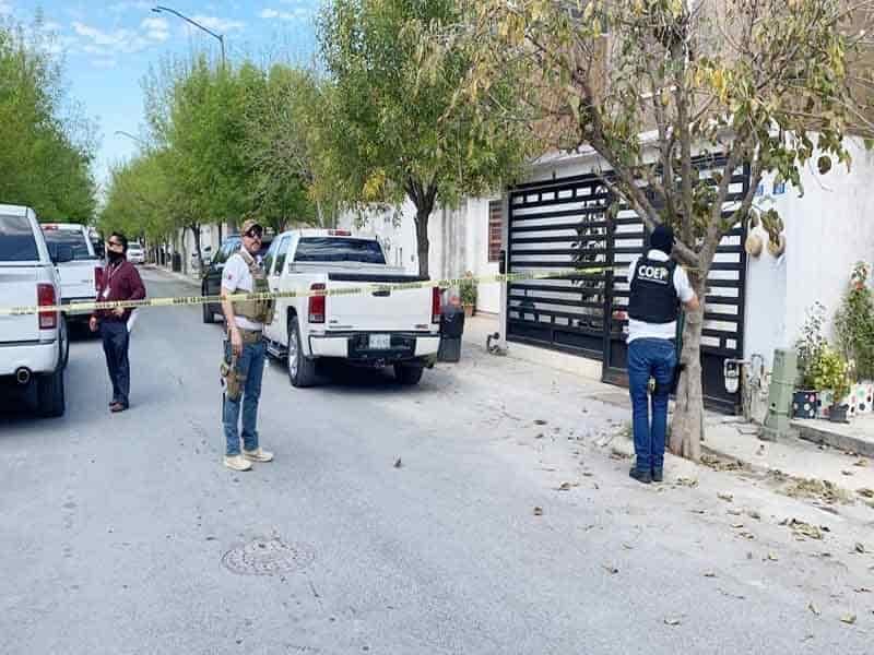 Uno de los  cateos se efectuó en la Colonia Residencial Punta Esmeralda, en Juárez