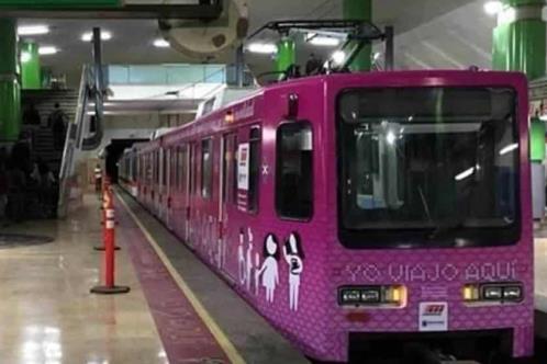 Tendrá Metro 20 vagones exclusivos para mujeres