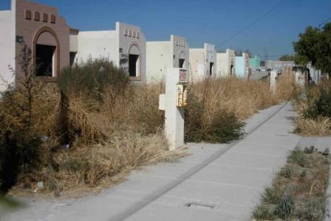 Hay 50 mil viviendas en abandono