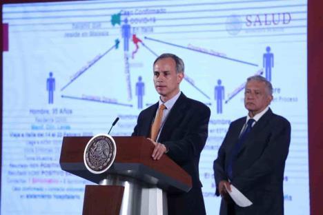 Coronavirus llegó a México, Salud confirma primer caso