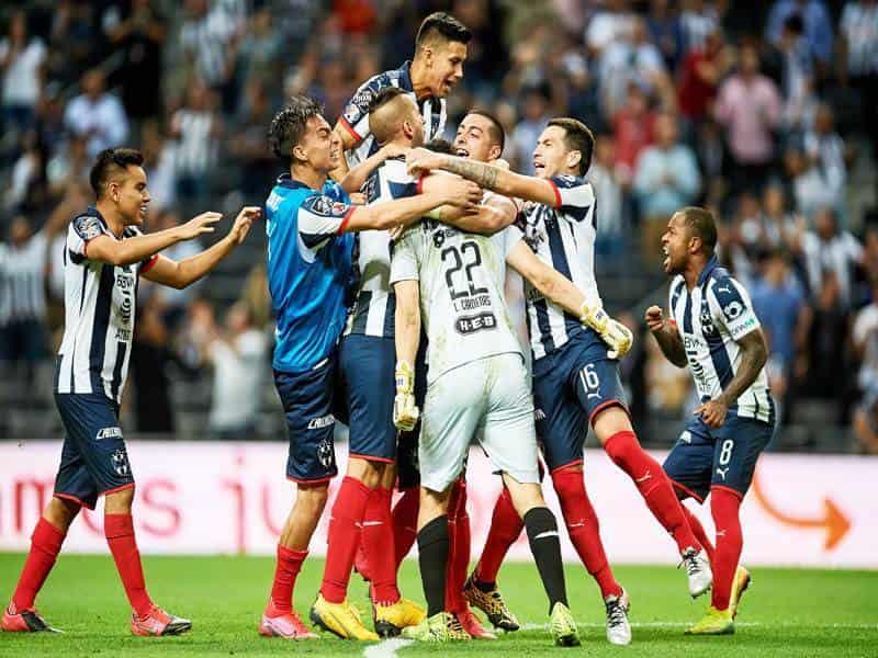 Festejando el primer gol