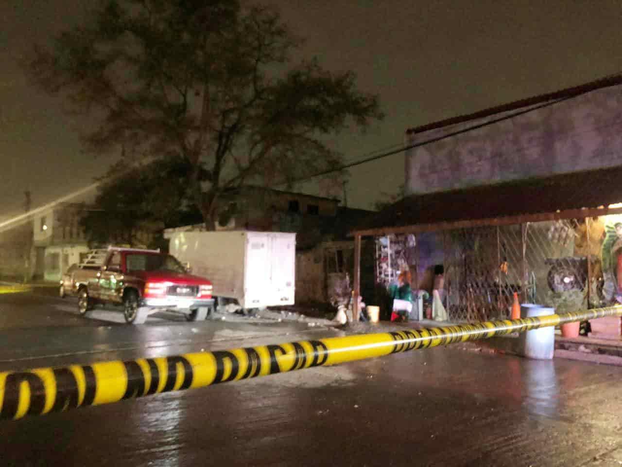 Las víctimas resultaron con heridas por arma de fuego, uno de ellos en la cabeza