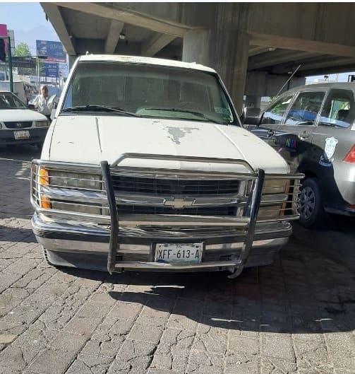 Se logró la ubicación de una camioneta que contaba con reporte de robo