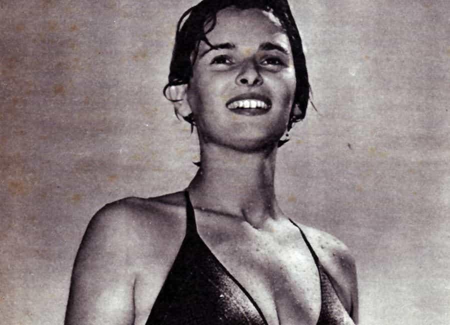 La joven y bella Lucía Bosé