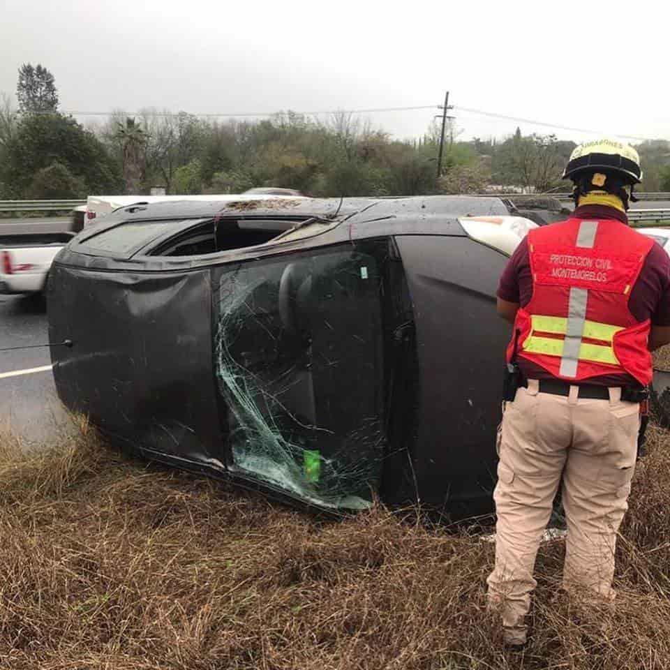 Un menor de edad salvó su vida gracias al cinturón de seguridad