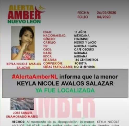 Lograron la rescatar a la menor que había sido raptada por un hombre de origen Hondureño en la colonia Rubén Jaramillo