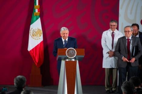 """""""En crisis se ve de qué están hechos los gobernantes"""" AMLO"""