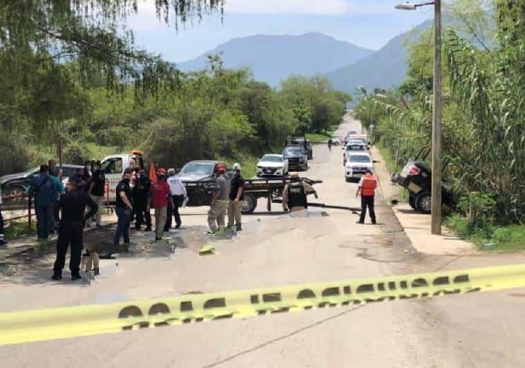 El motociclista falleció luego de ser impactado por una unidad de Fuerza Civil