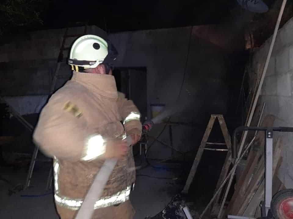 El incendio se registró en una casa ubicada en Montemorelos