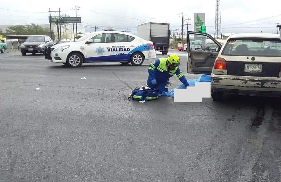Un conductor falleció en el accidente entre tres vehículos