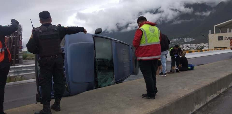 Los automovilistas dieron rienda suelta a la velocidad y provocaron tres volcaduras