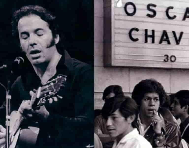 Cantó para la protesta estudiantil de 1968