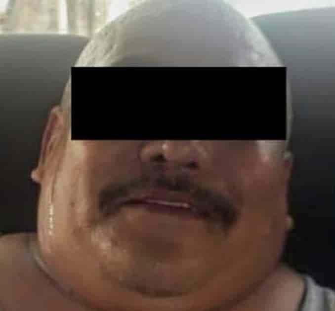 El sujeto fue detenido mediante una orden de aprehensión