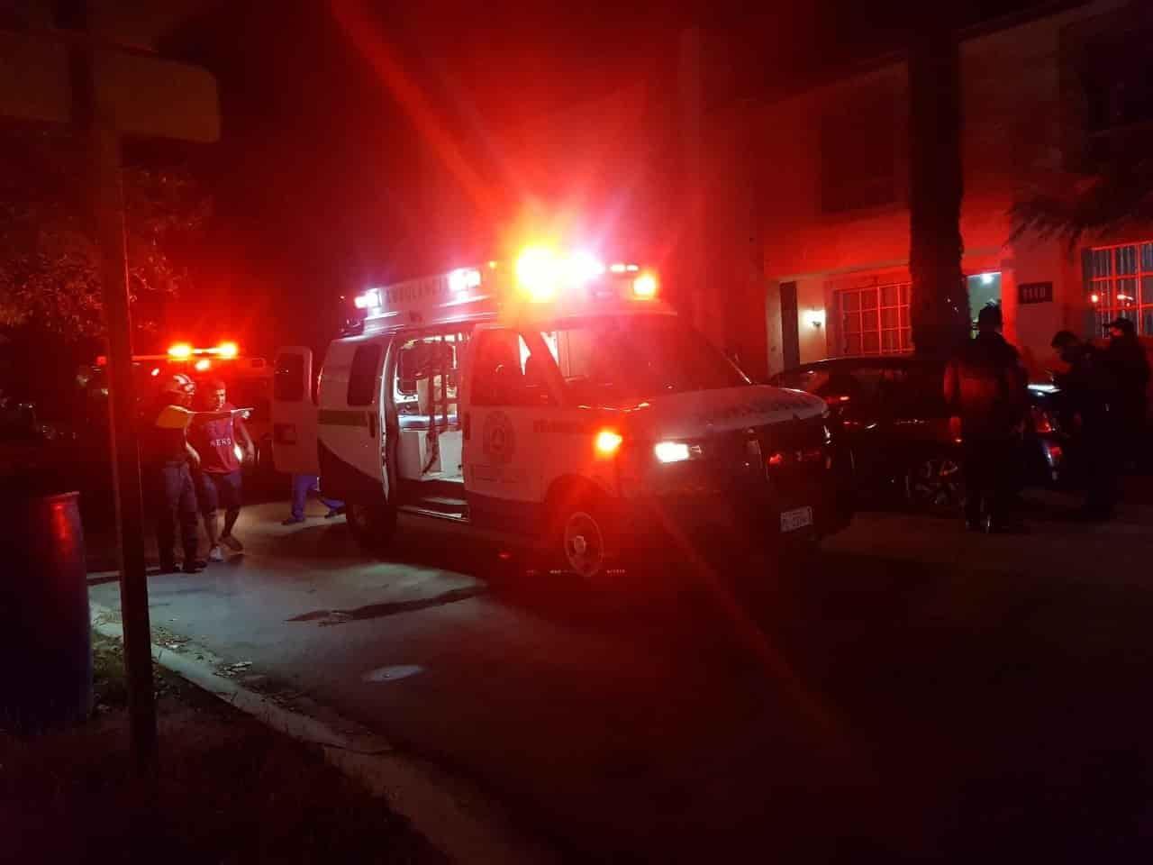 Tres hombres resultaron con diversas heridas luego de ser agredidos por hombres armados