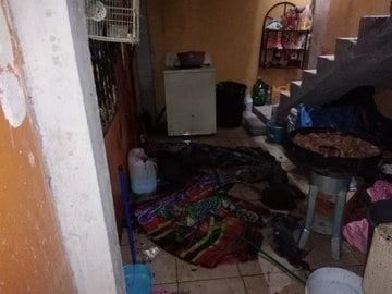 El flamazo en una casa dejó dos personas lesionadas