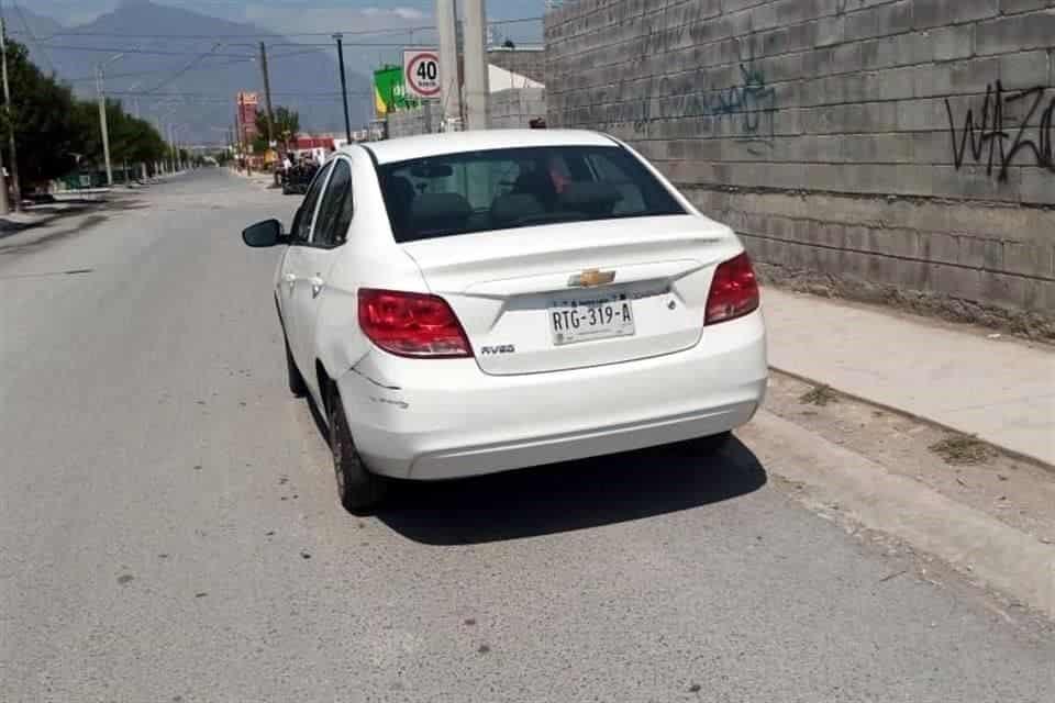El conductor de DIDI fue asaltado por dos pasajeros