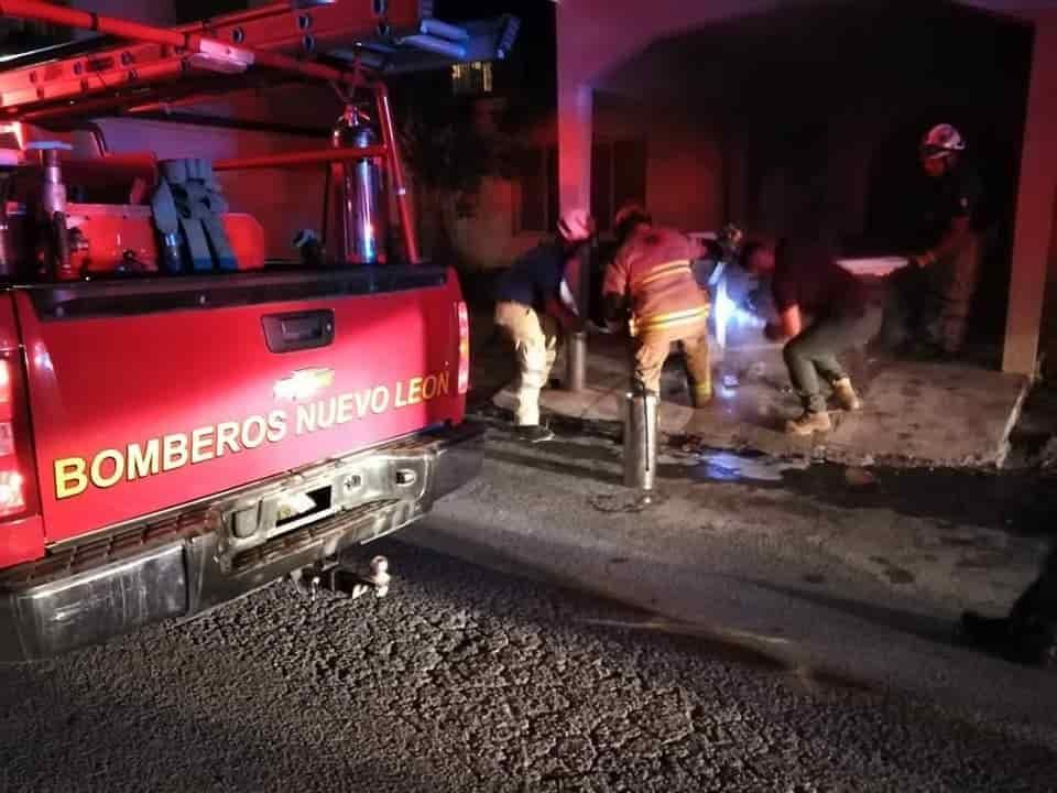 Se registró el incendio en una vivienda en Linares