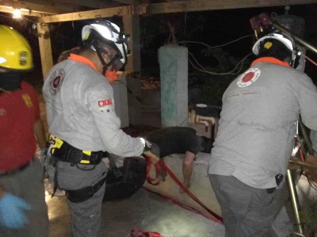Un hombre murió luego de caer a una noria de al menos 12 metros,