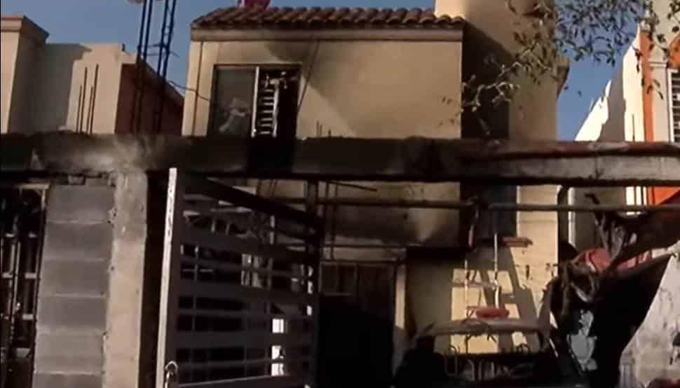 Un corto circuito povocó el incendio al interior del domicilio
