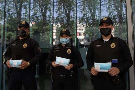 Suman 73 policías infectados por Covid-19