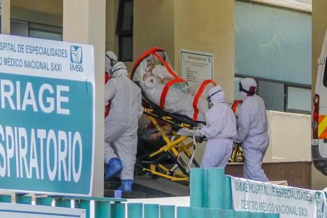 México suma 7,633 muertes por Covid; hay 71,105 contagios