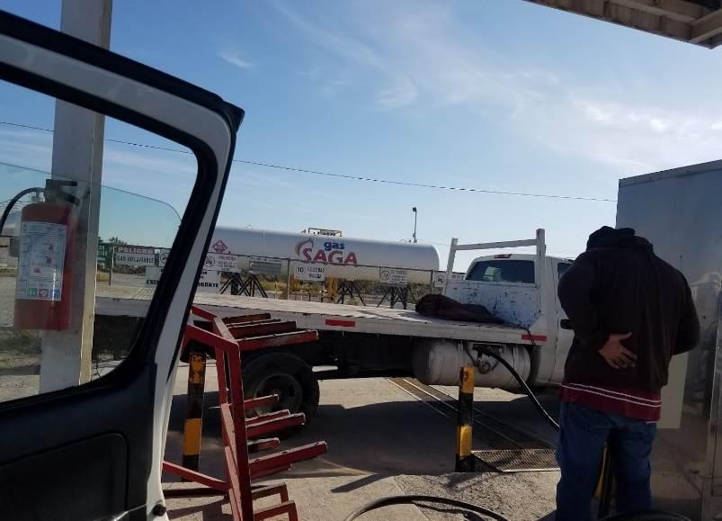 Los delincuentes asaltaron con lujo de violencia una gasera del municipio de Cadereyta