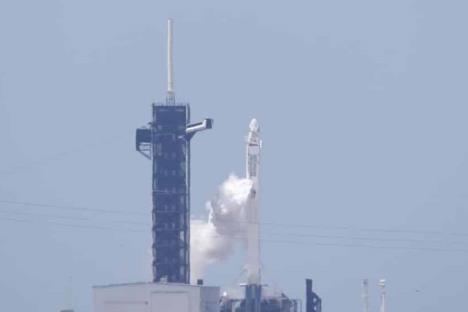 Despega con éxito la nave espacial Crew Dragon de SpaceX