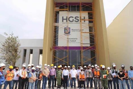 Suma 58 contagios en construcción de Hospital de Sabinas