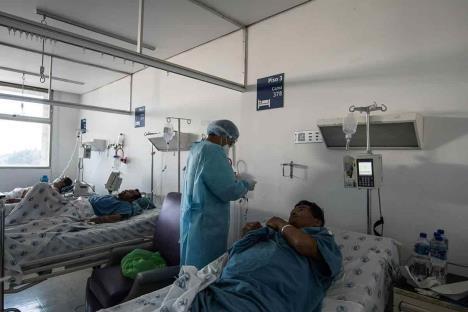 Hospital Juárez, donde están los que vencen al COVID-19