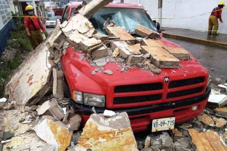 Tormenta tropical Cristóbal deja un muerto en Chiapas