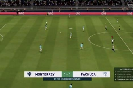 Rayados pierde ante Pachuca y está eliminado de la eLigaMX