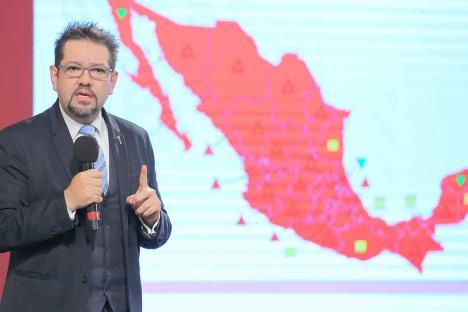 Arranca semáforo por estados con todo México en rojo
