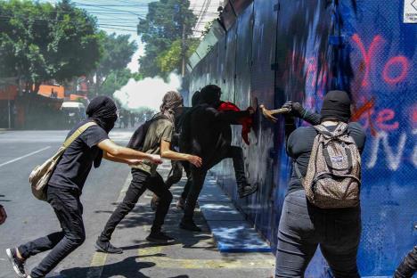Tras protesta, Seguridad capitalina reporta 11 lesionados