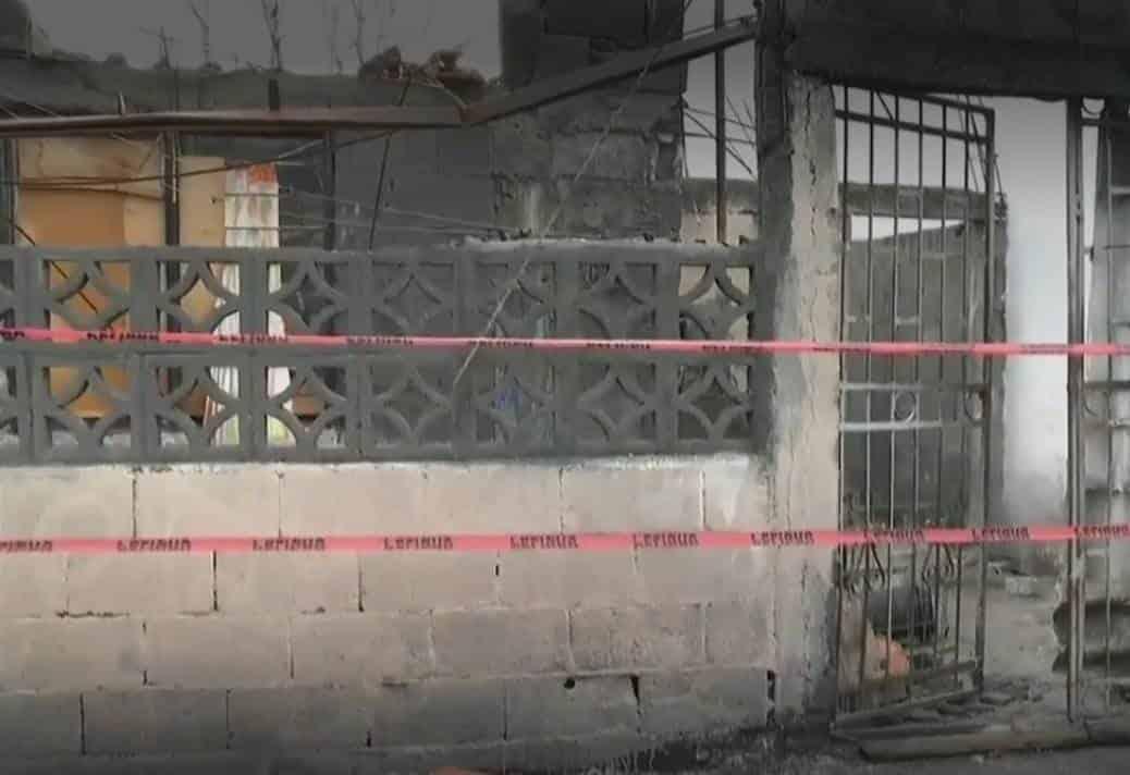 Dos personas lesionadas fue el saldo que dejó el desplome de una loza de concreto